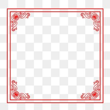 Chinese Style Antiquity Red Pattern Vintage Border Corner Border Clipart New Chinese Lace Frame Edge Png Transparent Clipart Image And Psd File For Free Down Vintage Borders Clip Art Borders Vintage