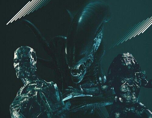 Terminator, Aliens, and Predator