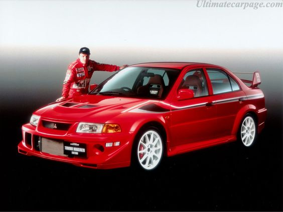 Mitsubishi Lancer Evo 6 Tommi Makinen Edition. This is one of my dream cars.