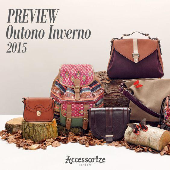 Preview Outono Inverno 2015 | Vem ver o que chegou: http://bit.ly/1Ajey2H