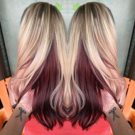 10 Best Ideas About Red Hair Underneath On Pinterest Red
