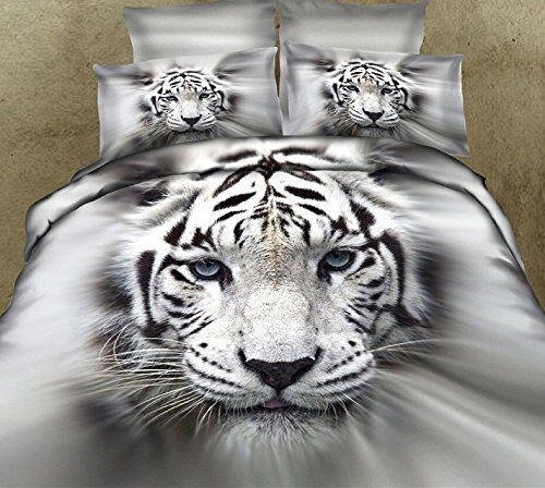 Fadfay Home Textile 3d Tiger Bedding Sets Wolf Bedding