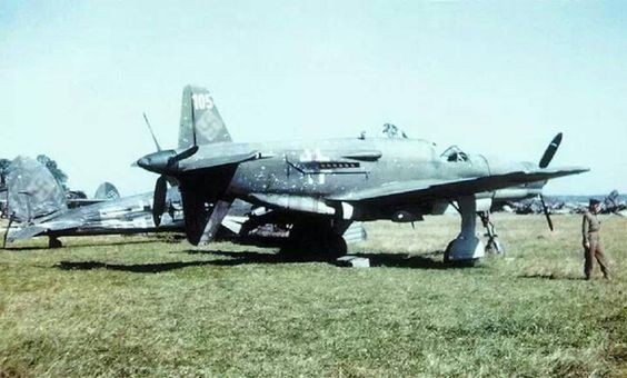 DO-335 Pfeil at Oberpaffenhofen in May 1945