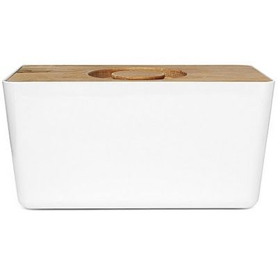 breadbox with cutting board lid - I want this now.
