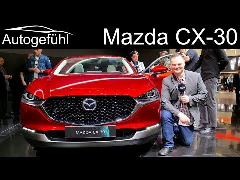 Mazda Cx 30 All New Suv Review Mazda Cx 4 Autogefuhl Youtube