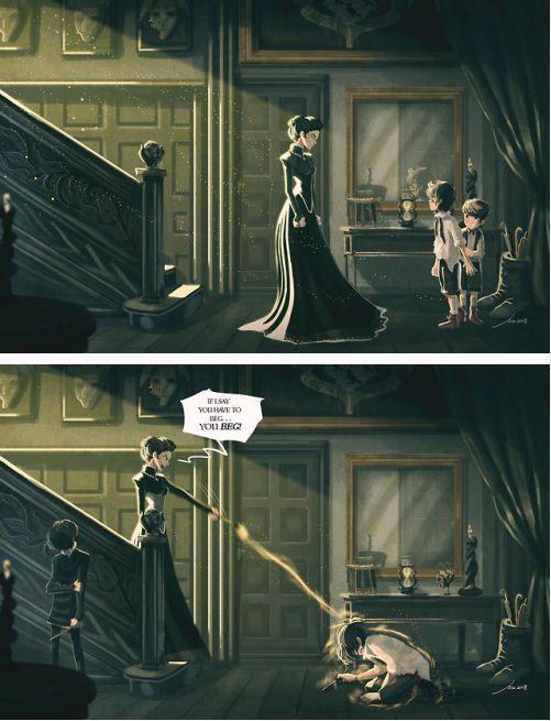 Sirius Black Beschutzte Seinen Kleinen Bruder Regolus Vor Seinen Eltern Doch Regolus Half Ihm Nicht Als Harry Potter Universal Harry Potter Comics Sirius Black