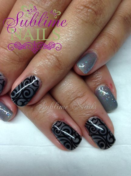 Nails by Sublime Nails~ www.sublimenails.ca #GelNails #Holiday #Christmas