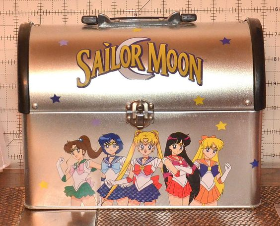 Sailor Moon lunch box lunchbox vintage Hot Topic metal storage container tin box…