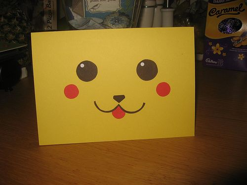 Pikachu Pokemon Birthday Card Cards Birthday – Pokemon Birthday Card