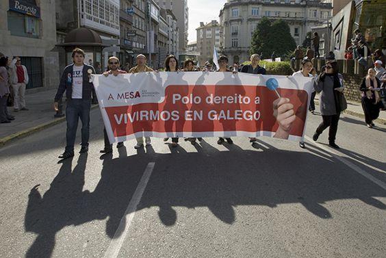 Campaña para a A MESA de normalización lingüistica