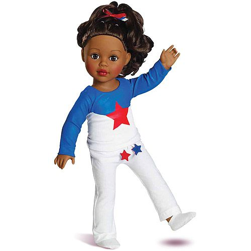 Gymnast Doll   Great Gift for girls who love gymnastics