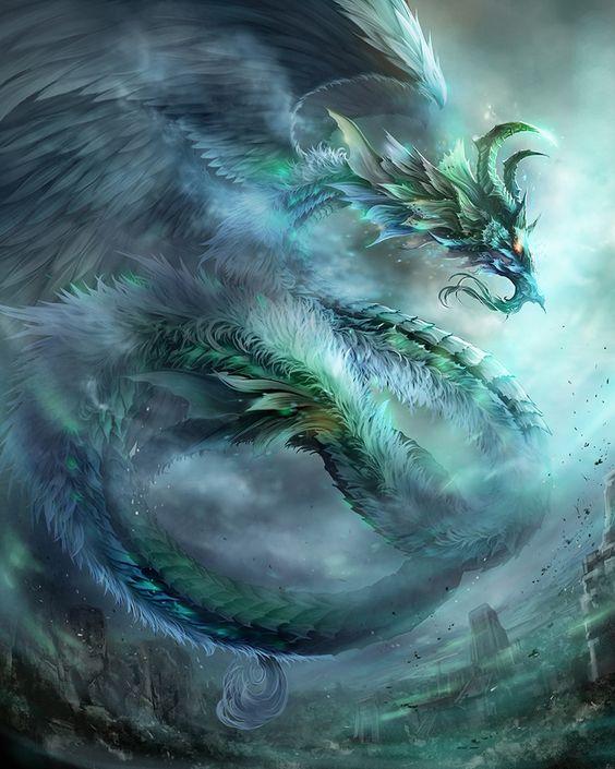 """♥ """"Wind Dragon"""" de Antilous   dragon de vent ou d'eau force sûprême"""