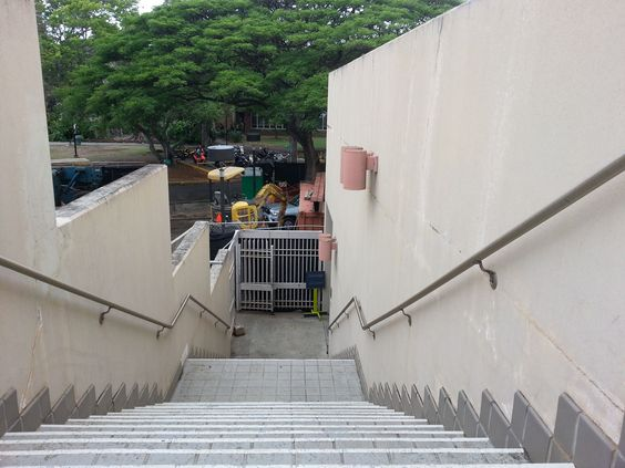 Kim_Joseph UH Manoa- Child looking down on a staircase