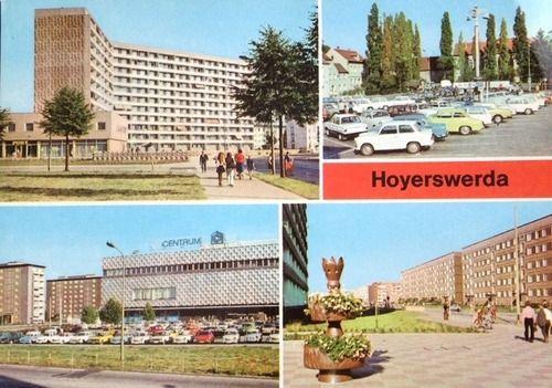 Postkarte Hoyerswerda 1982