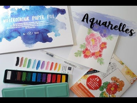169 Aquarelles Made In Action Youtube Aquarelle Portrait De