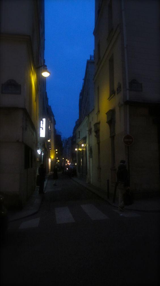Avond straten