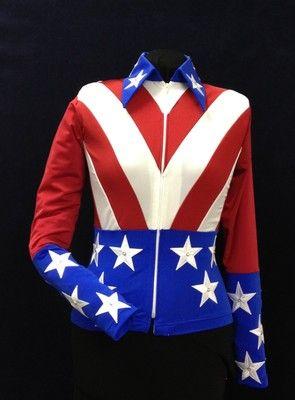 Rodeo Arena/Parade Patriotic Shirt