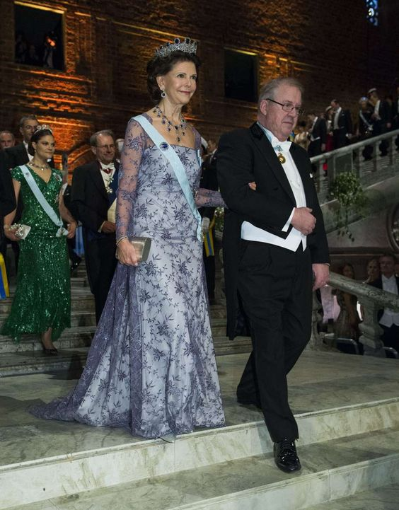 Swedish Royal Family attends the Nobel Banquet at the City Hall  in Stockholm, Sweden