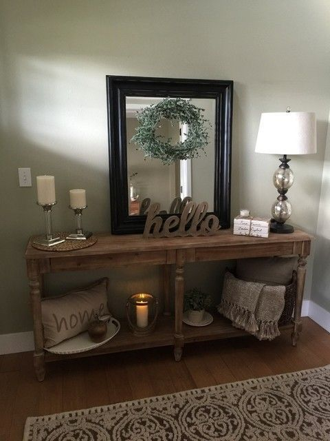 FARMHOUSE ENTRANCE WAY.. Entry Way Decor | Foyer Decor | Home Decor | Rustic | Farmhouse | Farm House | Country Home | Entryway Ideas | Foyer Ideas| House Ideas | Apartment Décor #entryway #homedecor #homeideas #entry #foyer #entrance