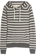 Aubin & Wills|Moulton hooded striped cotton sweatshirt|NET-A-PORTER.COM