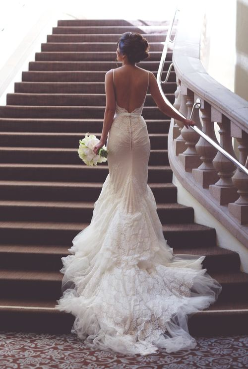 How to be effortlessly bridal: 30 pretty wedding dresses with trains