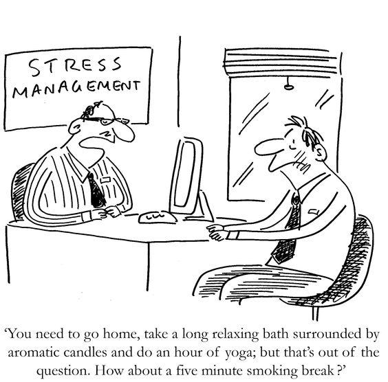 Stress comic