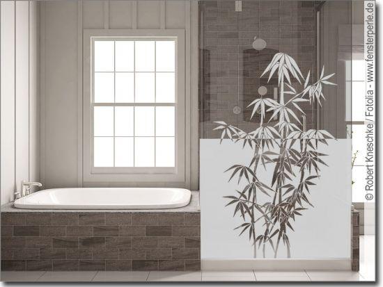 Milchglasfolie Asia Bambus In 2020 Folie Sichtschutzfolie Bambus
