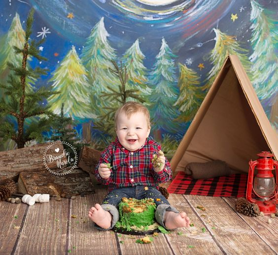 Birthday Photos, Cakes And Lumberjack Cake On Pinterest