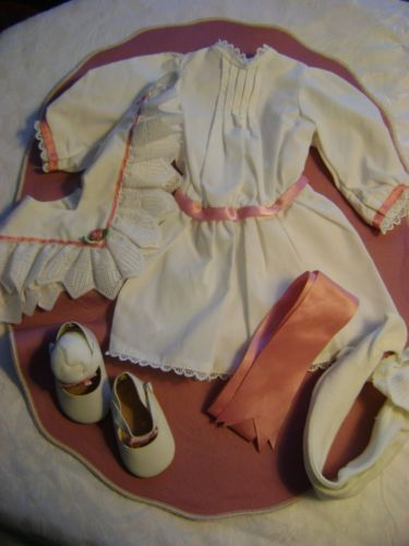 American Girl * Samantha *Tea Dress Outfit * 6 Pieces * Pleasant Co.