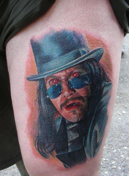 Gary Oldman My Favorite Dracula Tattoo By Zhivko