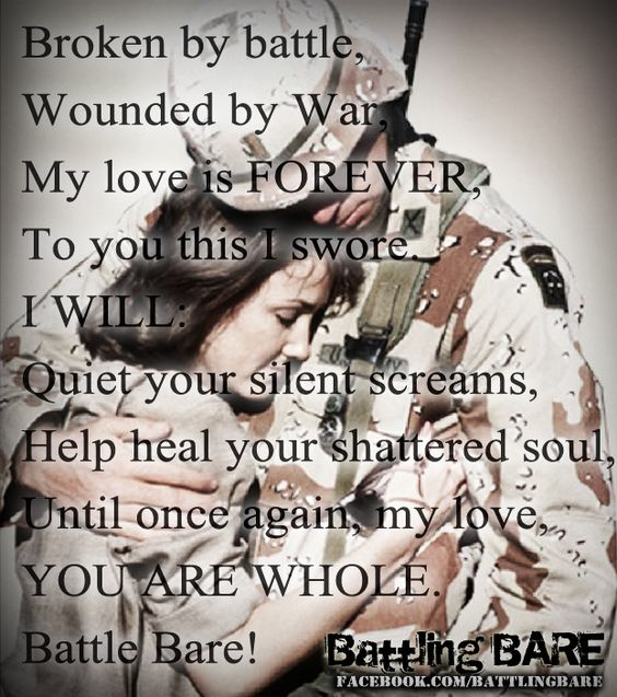 Dating soldier with ptsd
