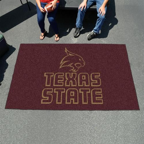 Texas State University 5' x 8' Tailgating Area Rug