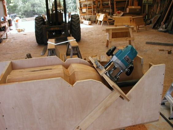 Using A Router Router Jig And Beams On Pinterest