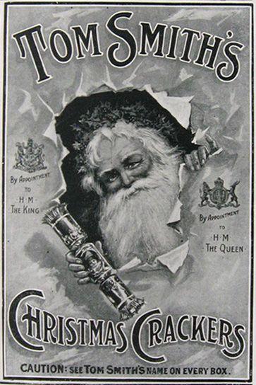 1911 Tom Smith's Christmas Crackers Advert
