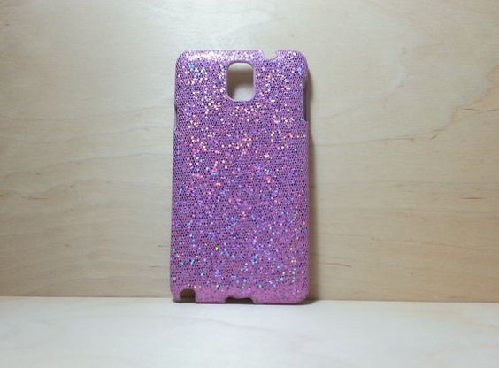 Glitter Case for Samsung Galaxy Note 3 Purple by shirleycatwong, $3.00 USD