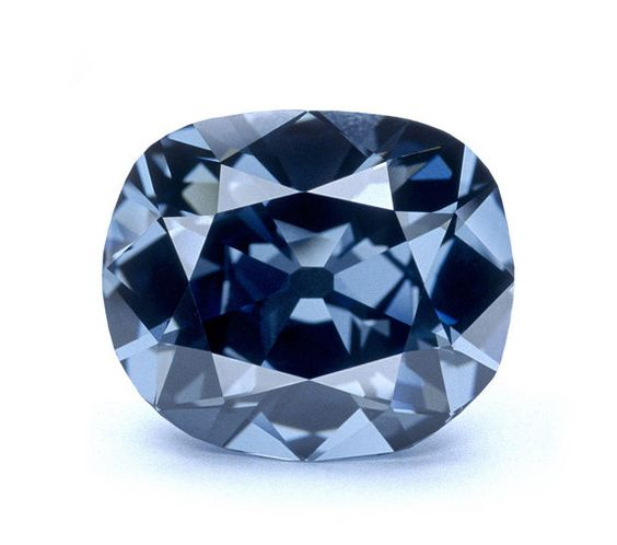 The Hope Diamond  as long as I can remember I've wondered what the Hope diamond looked like...now I know: