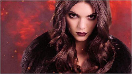 Kendall Jenner - Lingerie on Fire