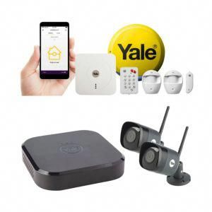 Yale Smart Home Alarm 2 Camera Cctv Kit Wireless Bundle Homeautomationideas Cctv Kits Home Security Tips Home Security Systems