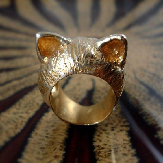The Golden Kitten Ring - I'm All Ears Series by AureaPraga
