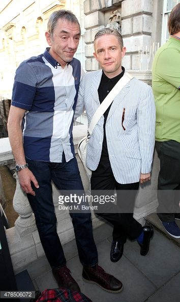 Classy bastard. ❤ {Martin Freeman: Somerset House Opens Major Exhibition, The Jam: About The Young Idea}
