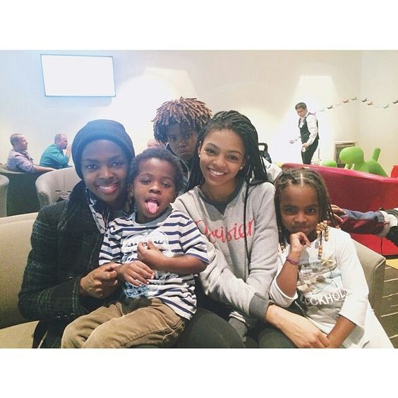Lauryn Hill and her children | Celebs & their Kids ...