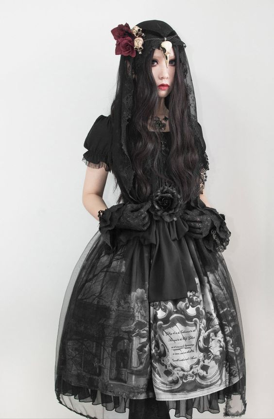 --> #LolitaUpdate: écailles De Lune [-✙-Gloria Patri-✙-] OP --> [-❣-Very Limited Quantity-❣-] --> Learn More: http://www.my-lolita-dress.com/ecailles-de-lune-gloria-patri-lolita-short-sleeves-op-dress