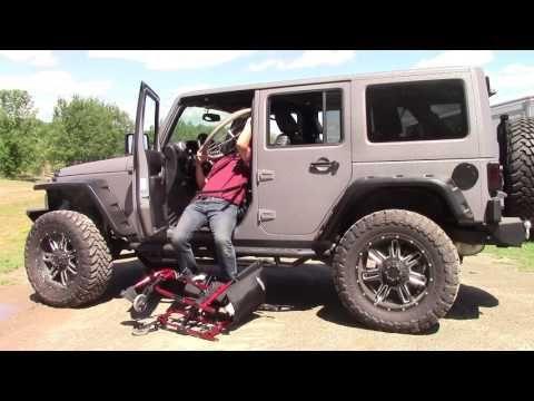 2014 Chevrolet Silverado Crew Cab V8 Wheelchair Lift Conversion