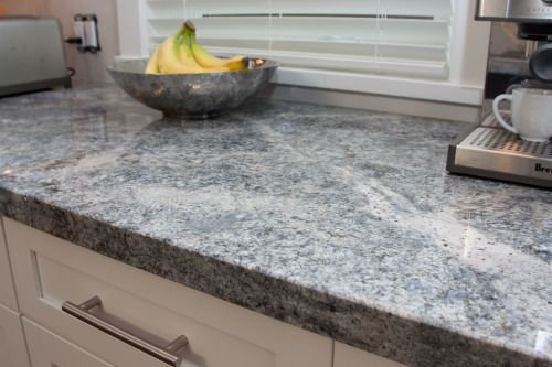 Azul aran granite white cabinets kitchen remodel for Aran world kitchen cabinets