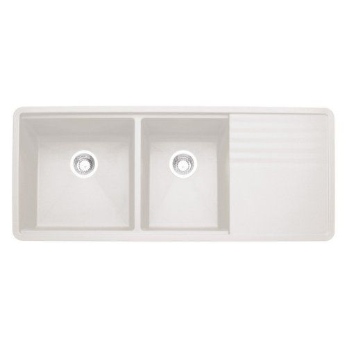 Blanco Double Sink With Drainboard : ... kitchen sink double sinks we sinks kitchen sinks spaces kitchens
