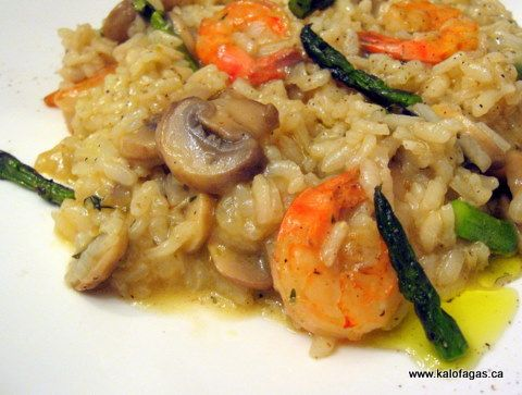 risotto with shrimp and asparagus | Seafood | Pinterest | Asparagus ...