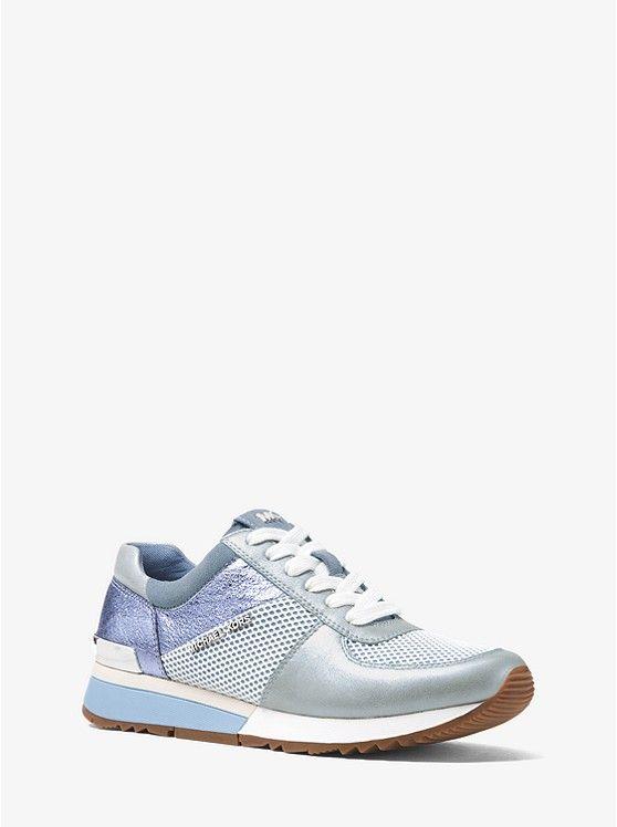 Allie Metallic Leather Sneaker