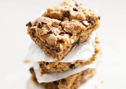 Peanut Butter Chocolate Chip No-Bake Bars - Prevention