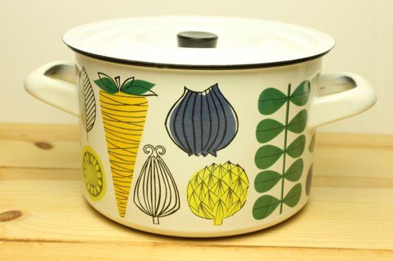 北欧アンティーク食器鍋