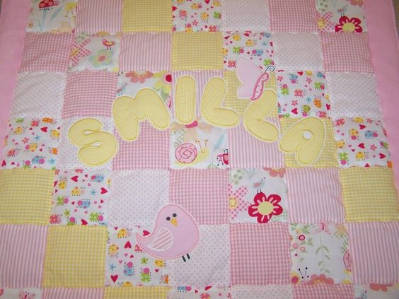 cute, personalized baby blanket